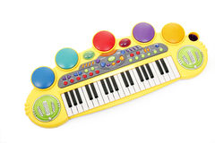 Child's electric piano stock image