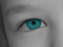 Child's eye Stock Image