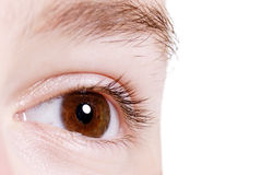 Child's eye Royalty Free Stock Images