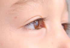 Child's eye close up Royalty Free Stock Photos