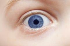 Child's eye - macro Stock Photography