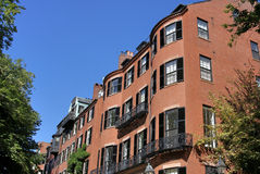 Child's eye view of boston royalty free stock photo