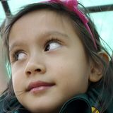 Child's Face. Royalty Free Stock Image