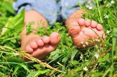 Child's feet Royalty Free Stock Photos
