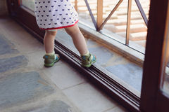Child's Feet Stock Images