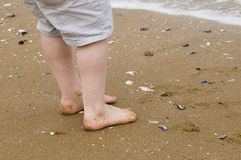 Child's feet Royalty Free Stock Image