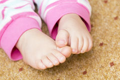Child's feet Royalty Free Stock Images