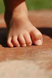 Child's Foot Stock Images