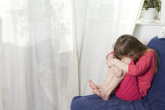 Child`s grief Royalty Free Stock Image