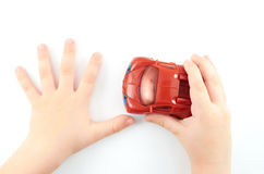 Child's hands Stock Images