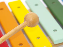 Child's instruments Stock Photography