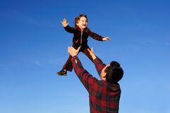 Child's joy Stock Photography