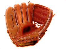 Child's Lefty Baseball Glove Royalty Free Stock Image