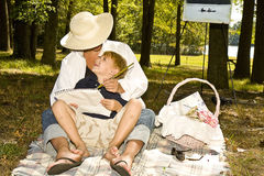Child's Love Royalty Free Stock Images