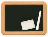Child's Mini Chalkboard - o2 Stock Photo