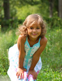 Child's natural smile Royalty Free Stock Images