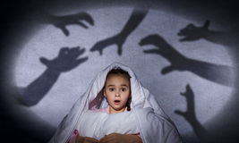 Child's nightmare royalty free stock image