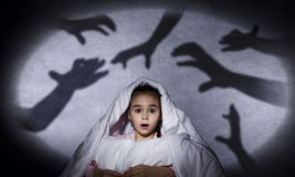 Child's nightmare Royalty Free Stock Photos