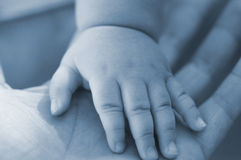 Child's palm Royalty Free Stock Image