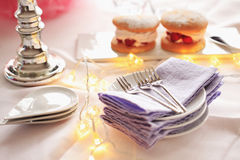 Child's party table Royalty Free Stock Images