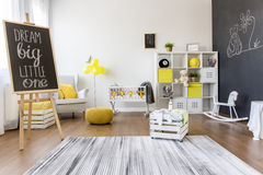 Child's play area Stock Image