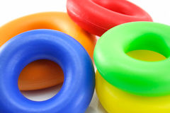 Child's playing rings Royalty Free Stock Photo