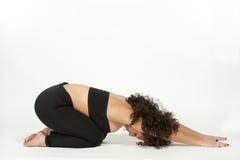Child's Pose Yoga Balasana Royalty Free Stock Images