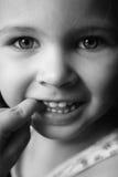 Child's pretty face Stock Photo