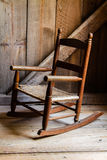 A Child's Rocking Chair Royalty Free Stock Photography