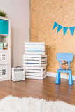 Child's room and corner full of fun Royalty Free Stock Image