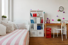 Child's room in pastel colors Stock Image