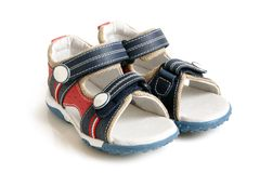 Child's sandals Royalty Free Stock Images