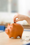 Child's savings Stock Photo