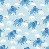 Child's seamless pattern. Vector illustration Stock Images