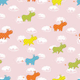 Child's seamless pattern Stock Images