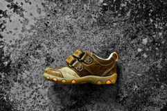 Child's shoe Royalty Free Stock Images