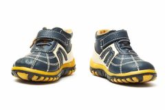 Child's shoes Stock Photography