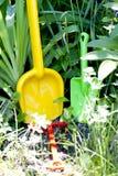 Child's shovels Royalty Free Stock Image
