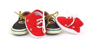 Child's sneakers Stock Photos
