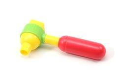 Child's toy otoscope Stock Photo