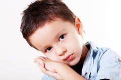Child sad Stock Photo
