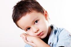Child sad Stock Photo