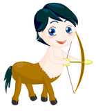 Child Sagittarius Royalty Free Stock Image