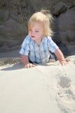 Child sand dune Stock Photos