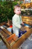 Child sandpit Stock Photography