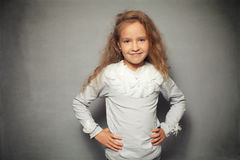 Child about school board Royalty Free Stock Images