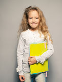 Child about school board Royalty Free Stock Photo