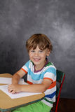Child in School, Education Stock Image