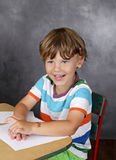 Child in School, Education Stock Photo