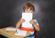 Child in School, Education Stock Photography